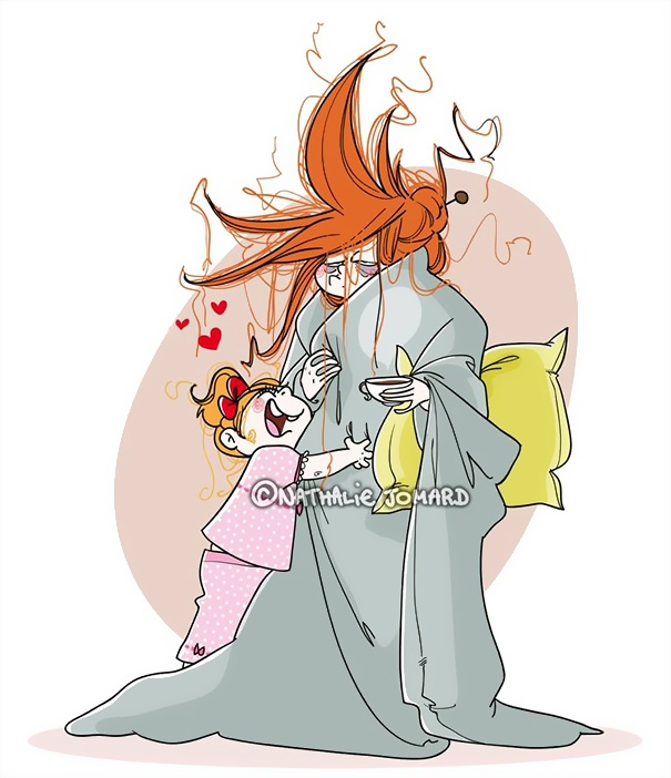 Счастье быть матерью от Nathalie Jomard