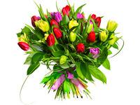 Яскраві тюльпани до Дня Народження