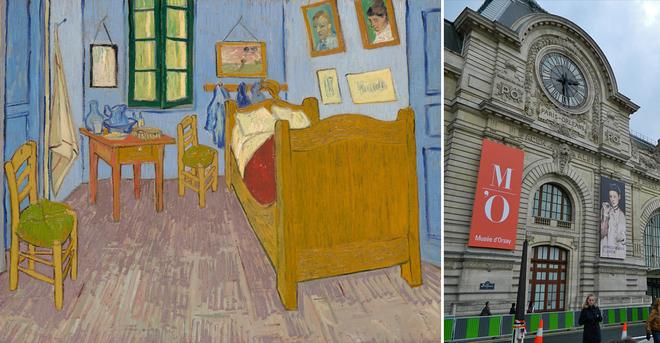 Арт-туризм: Спальня Ван Гога в Арле - Музей Орсе