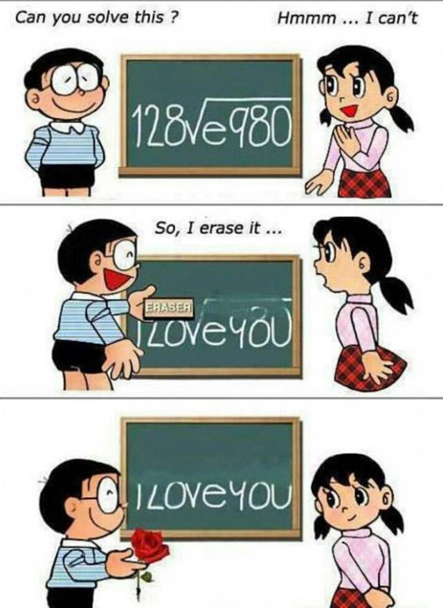 Любовная математика