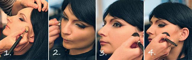 Make Up Bjork коллаж