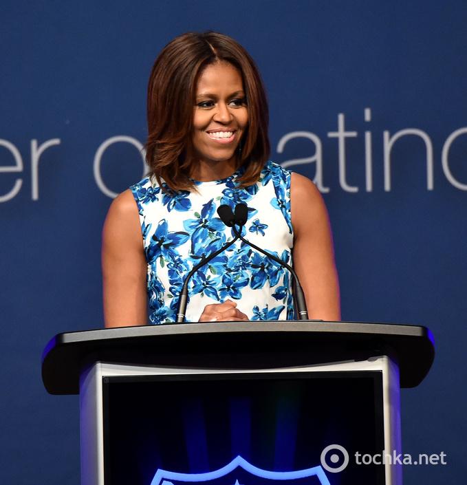 Дженніфер Лопес і Мішель Обама на урочистому вечорі LULAC