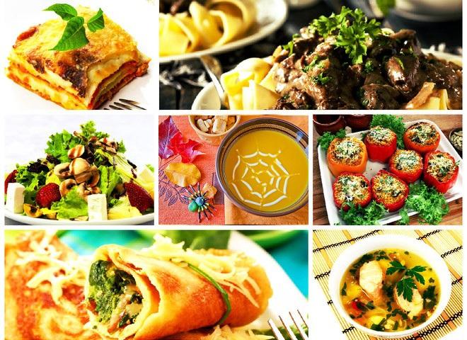 7 ужинов: вкуснейшее меню на неделю