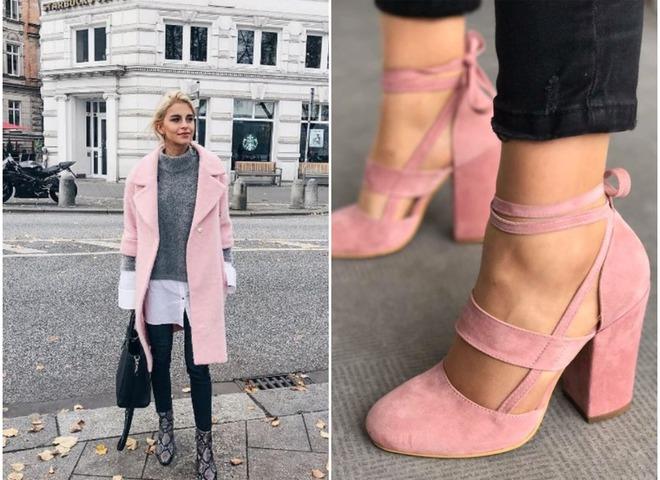Как носить розовый цвет весной