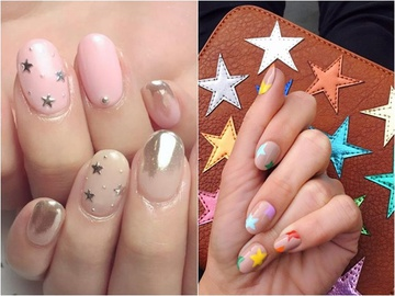 Звездный nail-art