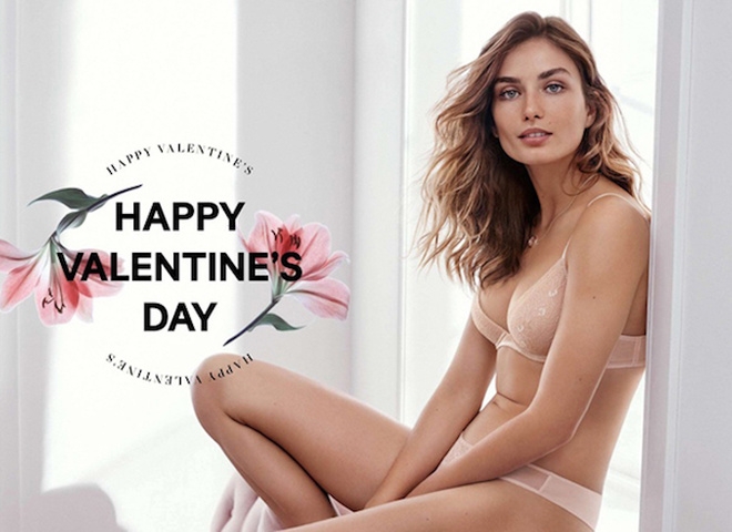 H&M Valentine's Day 2016