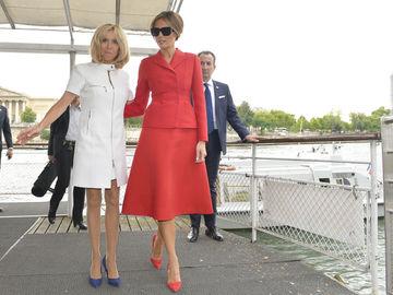 Модна битва: Меланія Трамп і Бріжит Макрон