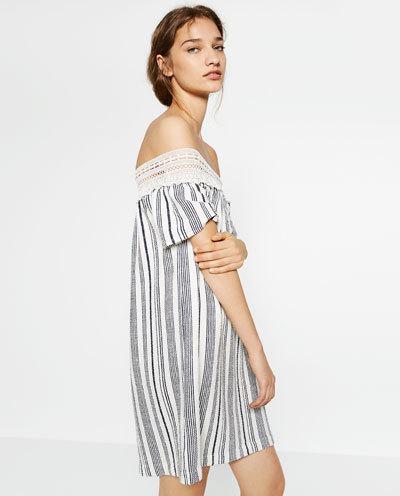 Що носити влітку 2016: плаття з відкритими плечима