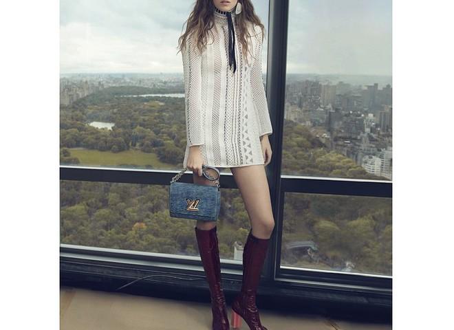 Первый взгляд на рекламную кампанию Louis Vuitton