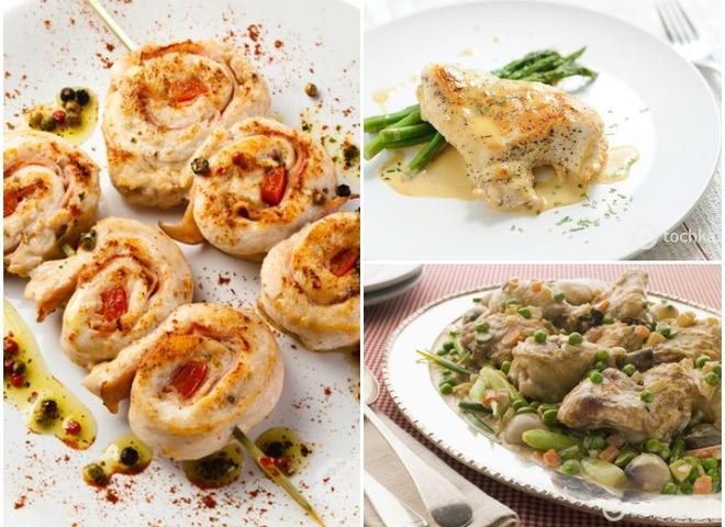 Простые блюда из филе индейки рецепты