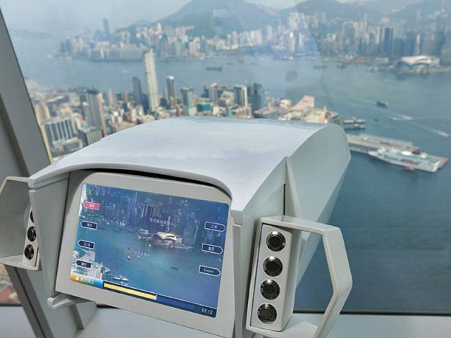 Цікаві місця Гонконгу: оглядовий майданчик Sky100