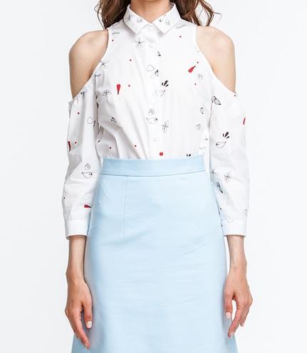 Белая рубашка MustHave, 799 грн