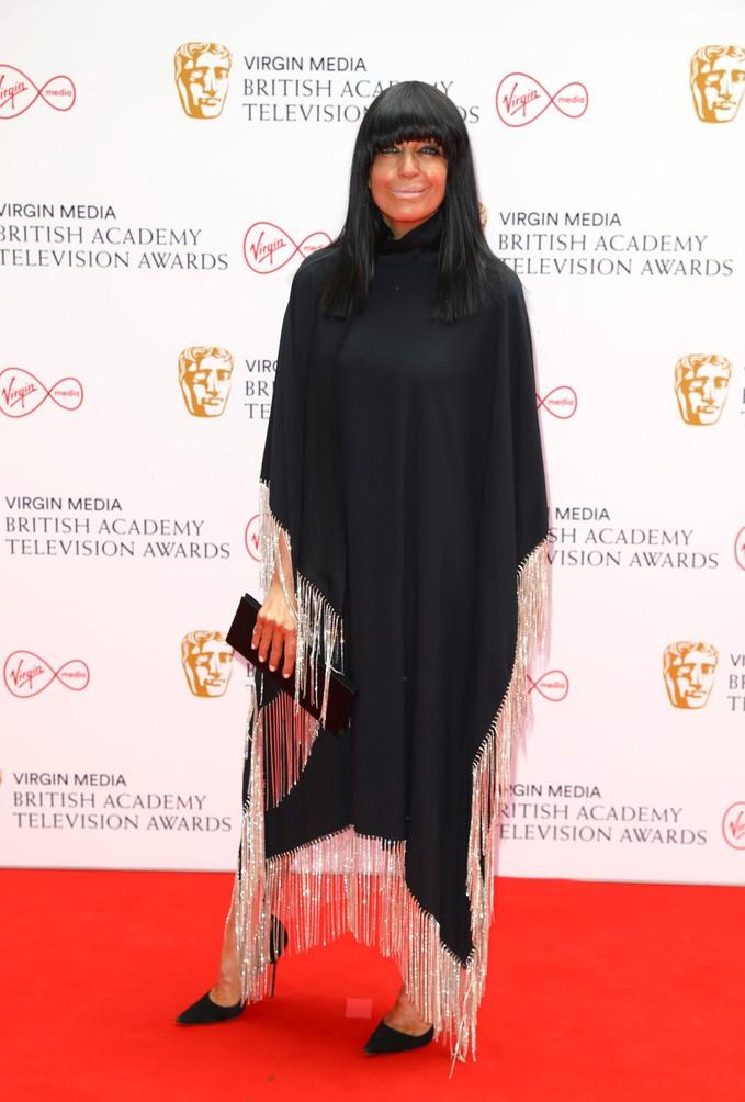 Клаудія Вінклеман на BAFTA TV Awards 2021