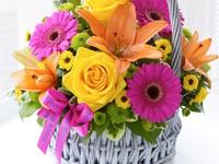 Яркие цветы ко Дню Рождения