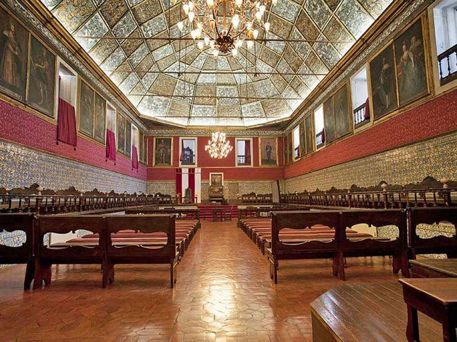 Библиотека Жуанина Коимбрского университета, Португалия