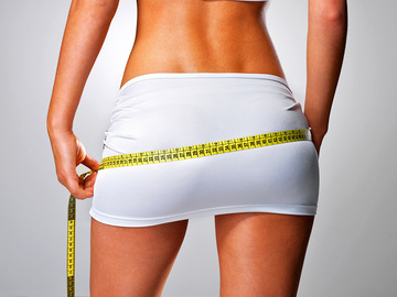 Как похудеть в бедрах?