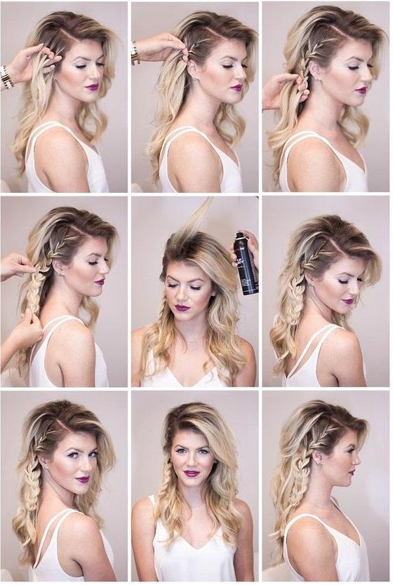 Зачіски на Новий рік за 5 хвилин