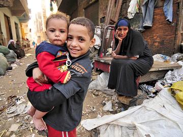Самые грязные города мира. Каир. Египет