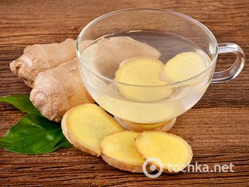 Як приготувати імбирний чай для імунітету