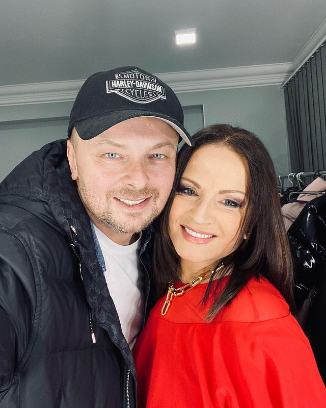 Софія Ротару з сином Русланом Євдокименко