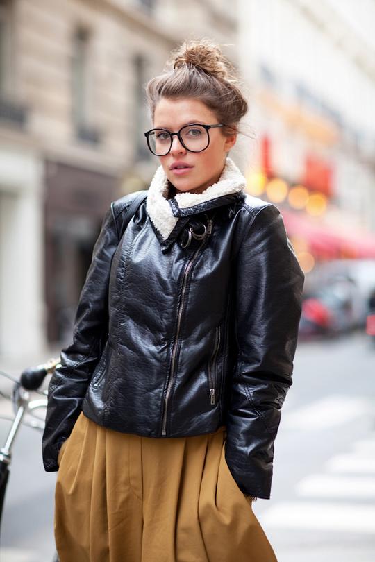 Модні окуляри для зору - street style