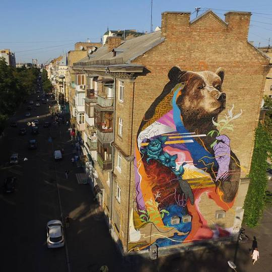 Best Street Art 2017