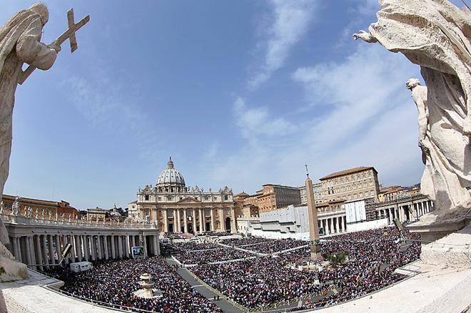 Площа Святого Петра - Ватикан