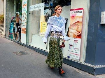 Стритстайл Недели моды в Париже SS 2017