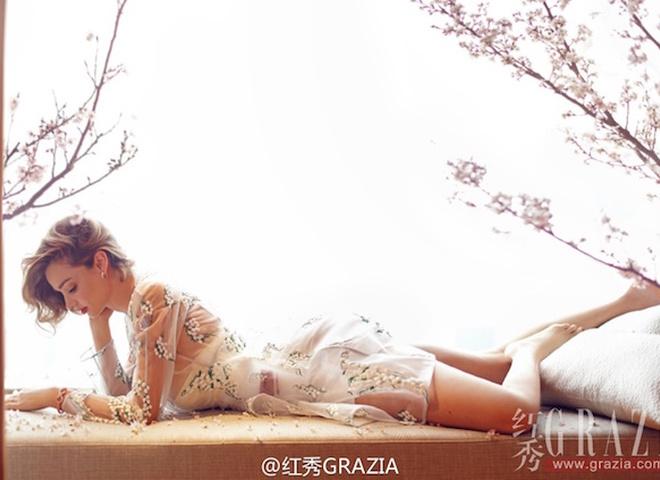 Міранда Керр для Grazia China