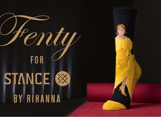 Шкарпетки із зображенням Ріанни