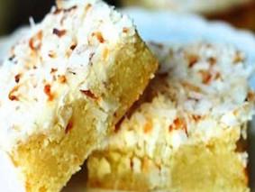 Кокосово-лаймовое пирожное