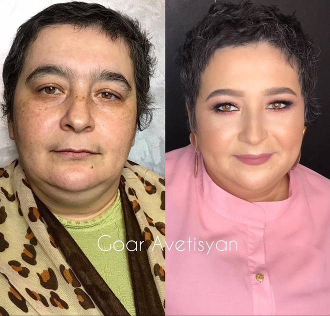 Чудеса макияжа от Goar Avetisyan