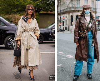 Стильные наряды для дождливого дня