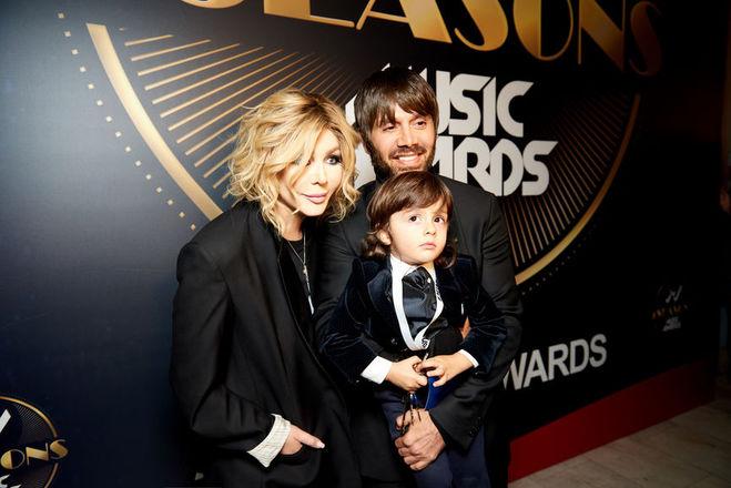 Ирина Билык с супругом и сыном