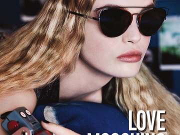 Студенческая романтика в рекламной кампании Love Moschino