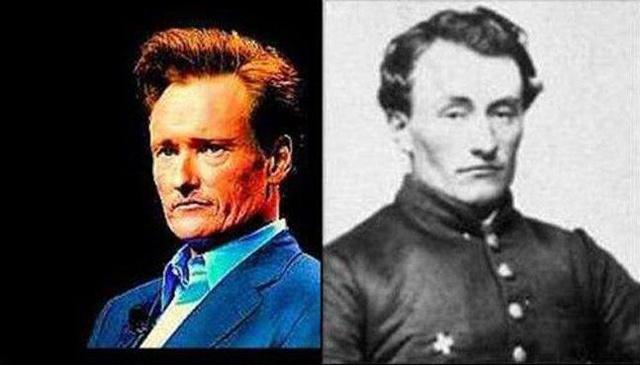 Знаменитости и их исторические двойники