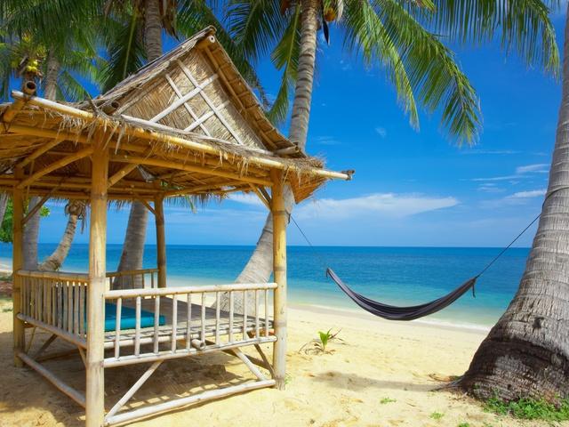 обои на рабочий стол море пляж № 513956 без смс