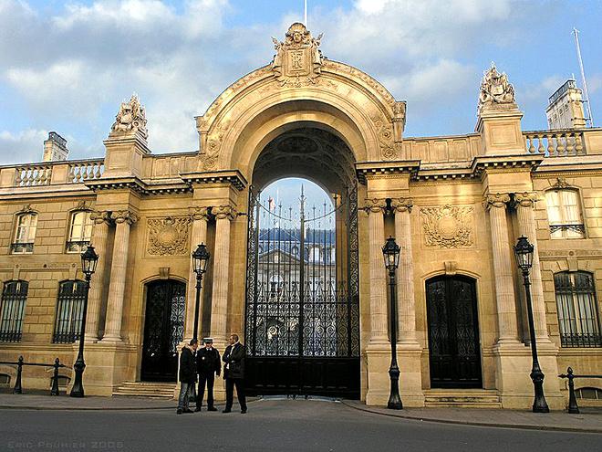 Єлисейський палац в Парижі