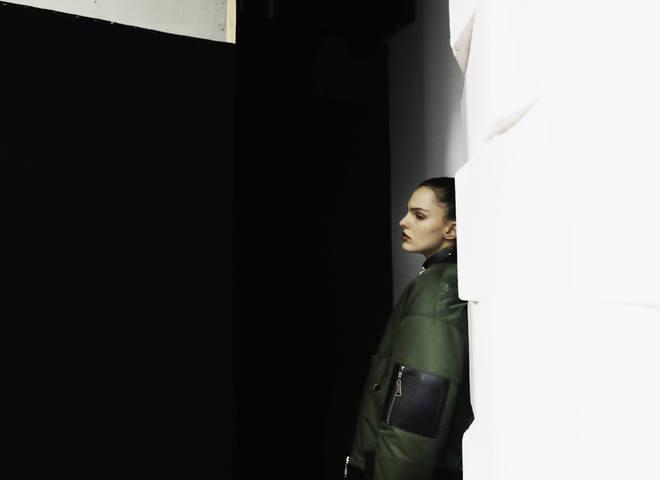 backstage Paris Fashion week