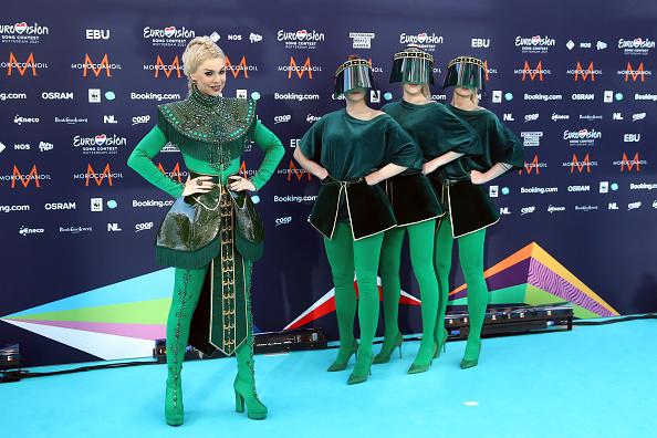 Samanta Tina на Евровидении 2021