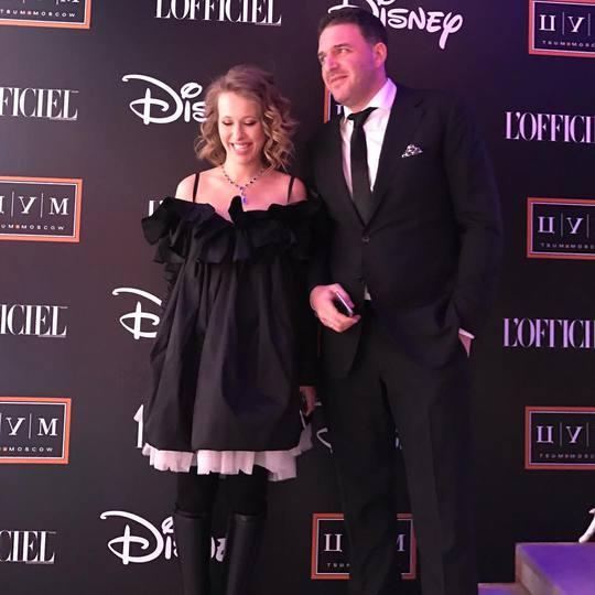 Ксения Собчак с мужем Максимов Виторганом