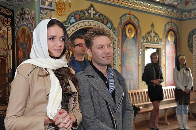 Крестины дочки Нагорного