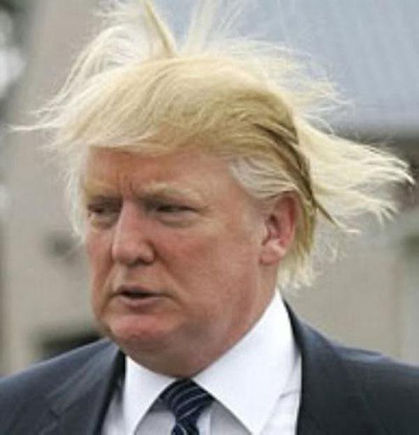 Самая популярная прическа на ближайшие 4 года. Трамп. США Выборы 2016
