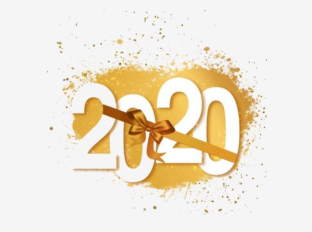 Прикольная открытка на Новый год крысы 2020