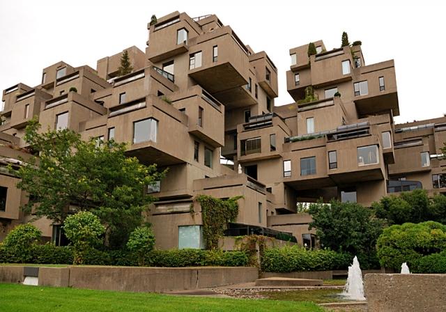 Самые необычные дома в мире: Хабитат 67, Канада