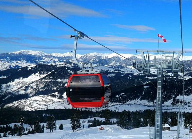 В Грузии открылся новый горнолыжный курорт