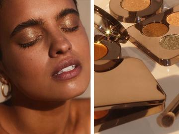 Лучшие тени для создания мерцающего макияжа
