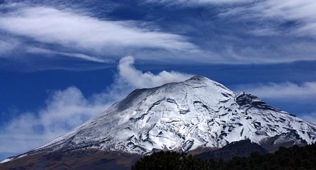 Путешествия к вулканам: Вулкан Попокатепетль