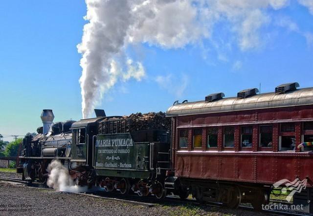 Лучшие маршруты в мире на старинных поездах