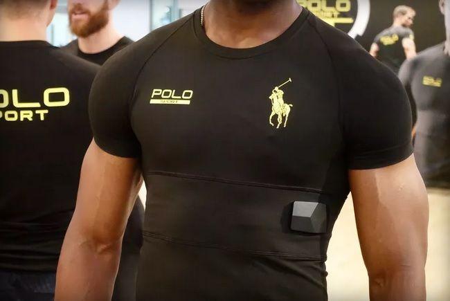Розумний одяг майбутнього: футболка Polo Tech